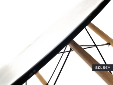 Stół Fusion średnica 100 cm czarny