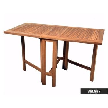 Drewniany stół ogrodowy 130x65 cm