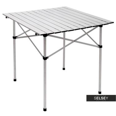 Stół aluminiowy kwadrat 70x70 cm