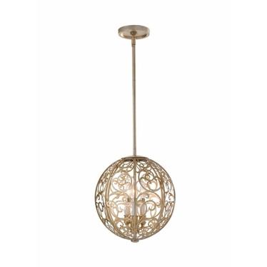 Lampa wisząca Arabesque kula 35,5 cm