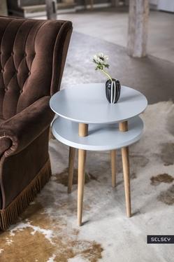 Stolik kawowy Candy okrągły średnice 70 cm, 57 cm i 45 cm
