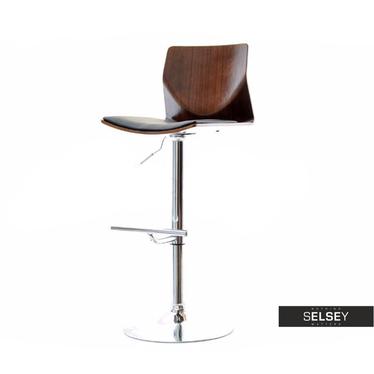Hoker 23 orzech-czarny drewniane krzesło barowe z giętego drewna