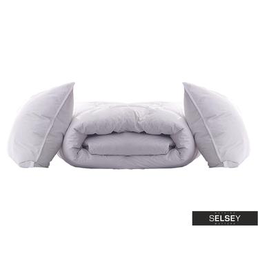 Kołdra Goose Down Duvet Superior z poduszkami