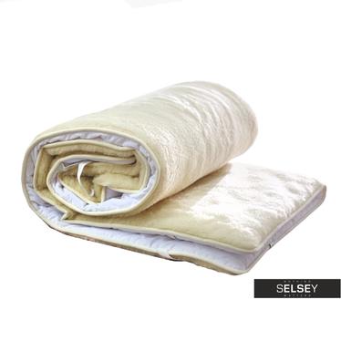 Nakładka na materac z wełny Merino by Oxam