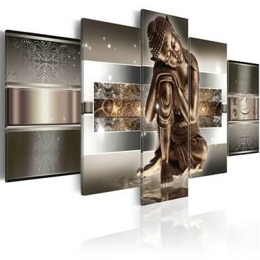 Obraz - Śpiący Budda 100x50 cm