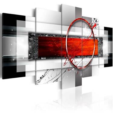 Obraz - karminowy pocisk 200x100 cm