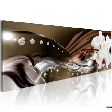 Obraz - Szlak orchidei 120x40 cm