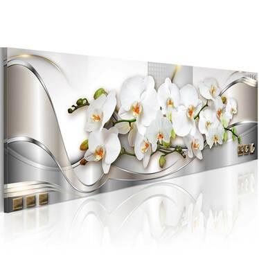 Obraz - Orchidee II 120x40 cm