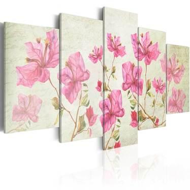 Obraz - Obraz z kwiatami 100x50 cm
