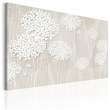 Obraz - Kwiaty na wietrze  90x60 cm
