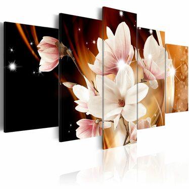 Obraz - Iluminacja (Magnolia) 200x100 cm
