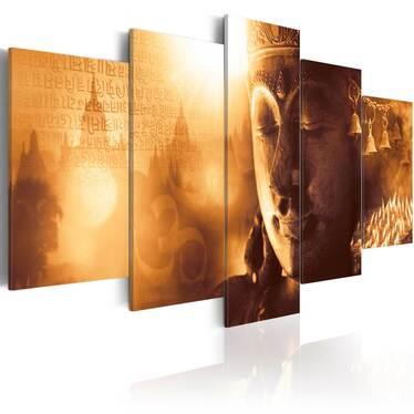 Obraz - Złoto Orientu 200x100 cm