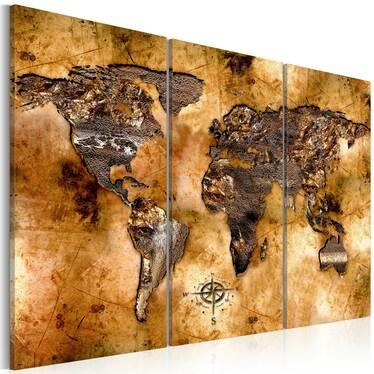 Obraz - Świat w opalizujących odcieniach 120x80 cm