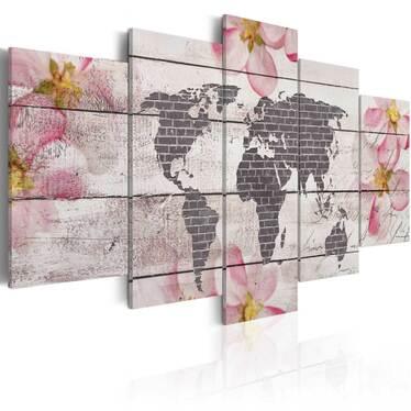 Obraz - Subtelny świat 100x50 cm