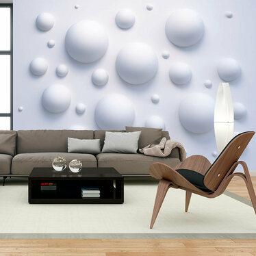 Fototapeta - Bąbelkowa ściana 300x210 cm