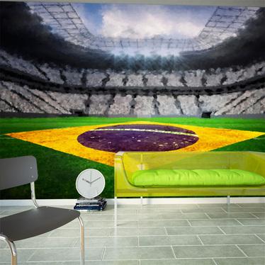 Fototapeta Brazylijski stadion