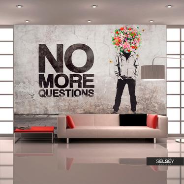 Fototapeta - No more questions 350x245 cm