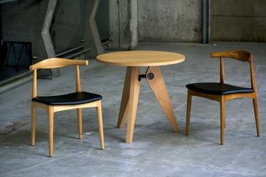 Krzesło Codo drewniane brąz