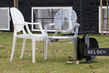 Krzesło Royal transparentne