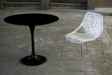 Krzesło Hallerbos białe