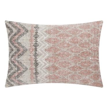 Poduszka z poszewką New Kelim jasno różowa 35x50 cm