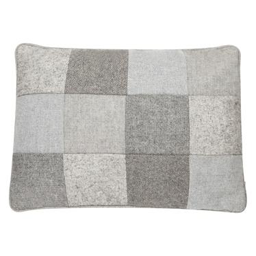 Poduszka z poszewką Wool patchwork 35x50 cm