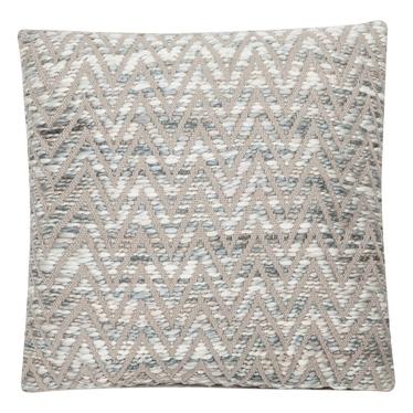 Poduszka z poszewką Zigzag jasny melanż 45x45 cm