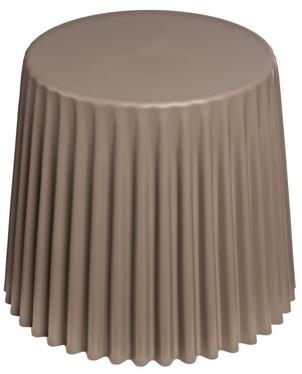 Stolik kawowy Cork średnica 47 cm mild grey