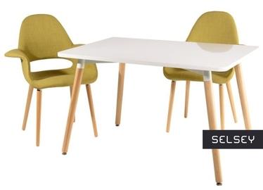 Stół Copine 120x80 cm biały