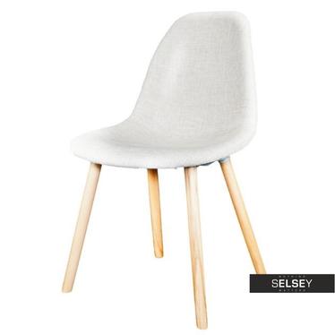 Krzesło Cosy tapicerowane beżowe