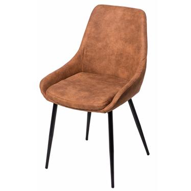 Krzesło Floyd brązowe jasne