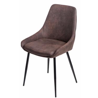 Krzesło Floyd brązowe ciemne