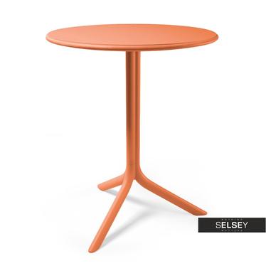 Stół Spritz pomarańczowy średnica 61 cm
