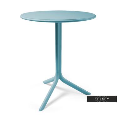 Stół Spritz niebieski średnica 61 cm