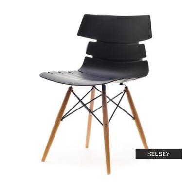 Krzesło Zac wood z lekkiego tworzywa