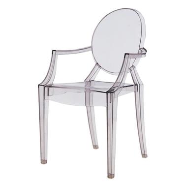 Krzesło Royal szary transparenty