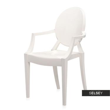 Krzesło Royal białe