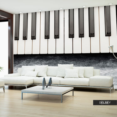 Fototapeta - Zainspirowane Chopinem - szary kamień 400x280 cm