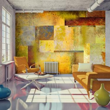 Fototapeta - Pomarańczowy odcień ekspresji 300x210 cm