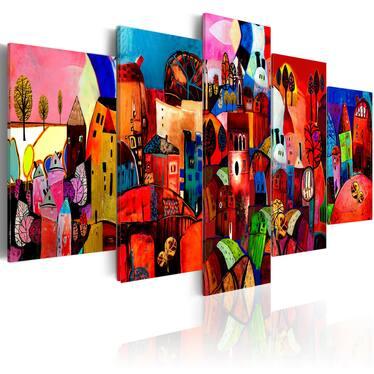 Obraz - Miasto 200x100 cm