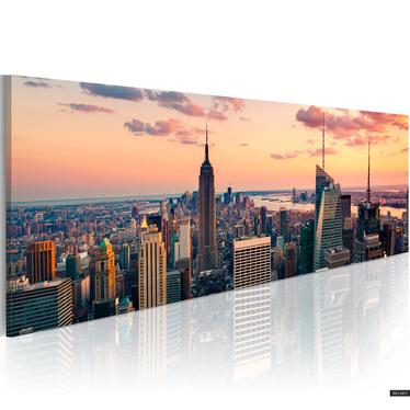 Obraz - Morze wieżowców - NYC 120x40 cm