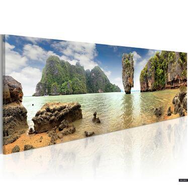 Obraz - Desert island 120x40 cm