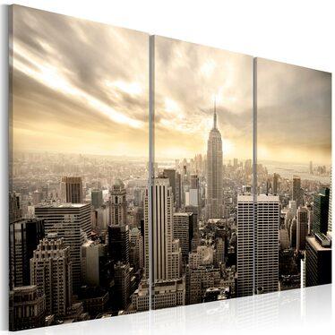 Obraz - Nowy York - wieczór 120x80 cm