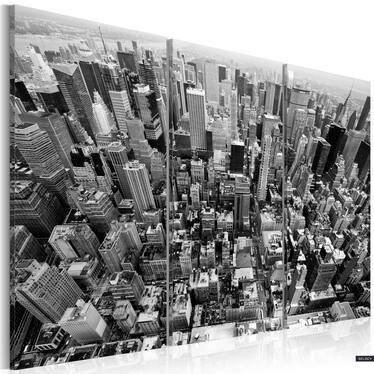 Obraz - Niesamowity widok na dachy Nowego Jorku 60x40 cm