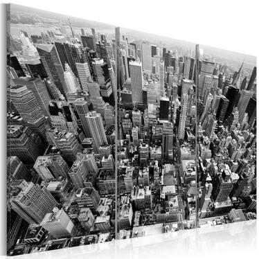 Obraz - Niesamowity widok na dachy Nowego Jorku 120x80 cm
