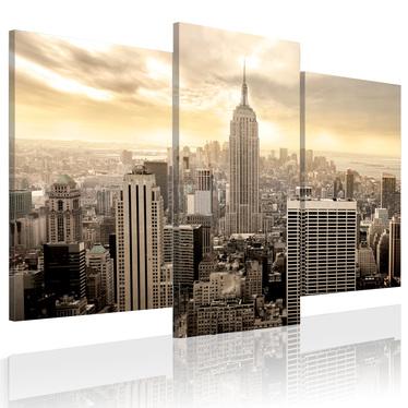 Obraz - Nowy Jork u schyłku dnia 120x100 cm