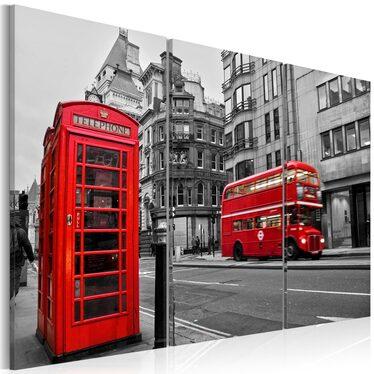 Obraz - Życie w Londynie 120x80 cm