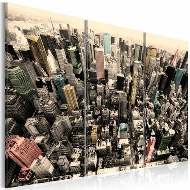 Obraz - Najwyższe budynki Nowego Jorku 60x40 cm