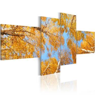 Obraz - Jesień w oczach krasnala 100x45 cm