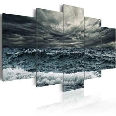 Obraz - Nadchodzi sztorm 200x100 cm
